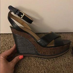 Nine West Wedge Nwwakely Sandals